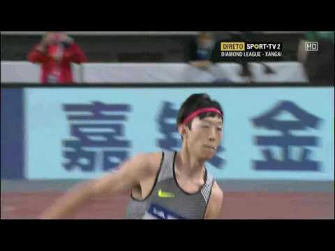 Zhang Guowei 2.28 Shanghai Diamond League 14.05.2016 ( men high jump )