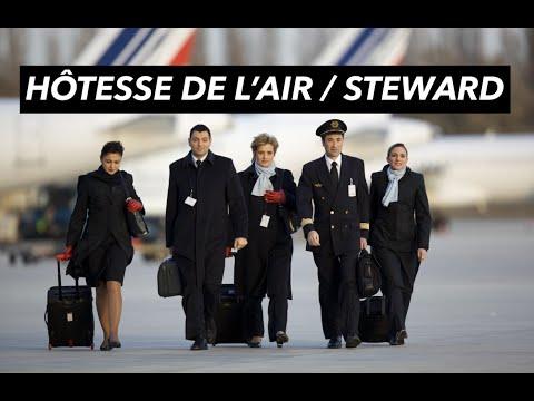 Comment devenir Hôtesse de l'air ou Steward?
