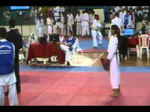 Andressa filha do Pir de Martinópolis - Final Kumite em Botucatu