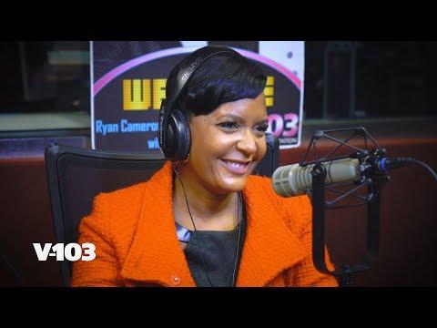 Atlanta's Mayor is Keisha! Keisha Lance Bottoms In V-103 Studio : RCMS
