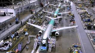 UAU!!! Veja como é a montagem de um Boeing 737!!!