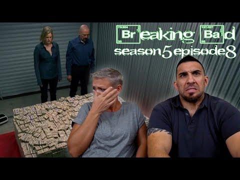 Breaking Bad Season 5 Episode 8 'Gliding Over All' REACTION!!