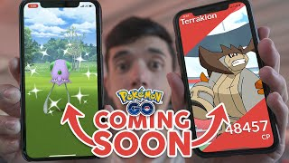 NEXT THREE POKÉMON GO EVENTS! New Shiny Tentacool, New Raid Boss Terrakion + More! by Trainer Tips