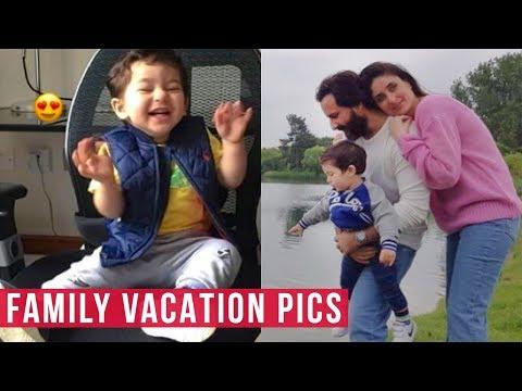 Kareena Kapoor, Saif Ali Khan And Taimur's Vacatio
