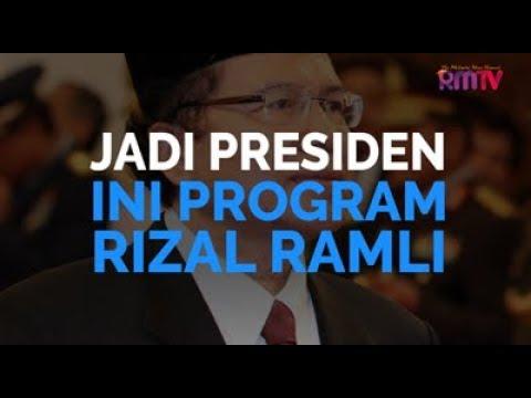 Jadi Presiden, Ini Program Rizal Ramli