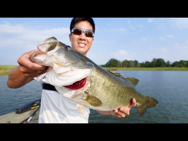 Epic bass fishing tournament 1rod jon b vs lunkerstv for Flair fishing rod