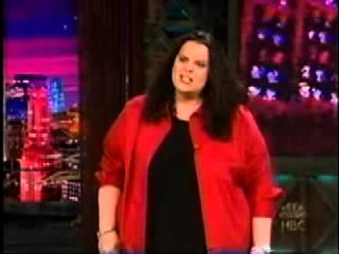 Jessica on Leno first time