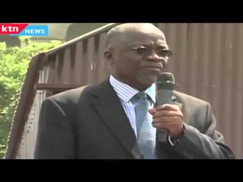 John Maghufli Pombe aka Okong'o speaks in Dholuo