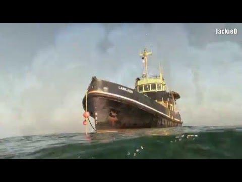 Speel Noordzeewrak Hondsbosch af