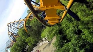 Gurnee (IL) United States  City pictures : Batman The Ride front seat on-ride HD POV Six Flags Great America