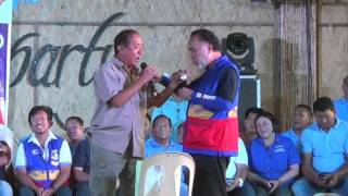 Convicted murderer Leviste endorses VP Binay