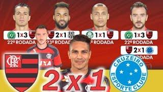 Flamengo 2 x 1 Cruzeiro * Brasileiro 2016 * Globo Esporte