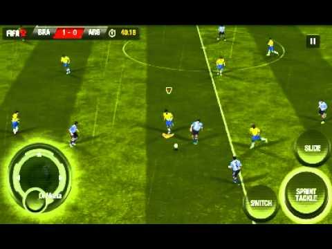 Скриншоты игры FIFA 12 android