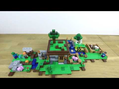 Iron Golem Combined With Other Sets - LEGO Minecraft - Designer Video