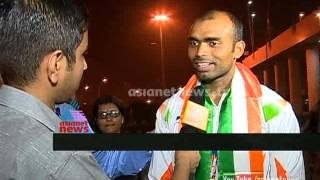Asiad Champion Indian Hockey Team Returns Home