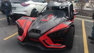1. 2018 Polaris Slingshot SLR Review and specs 0-60 Engine horsepower and Torque ZIMALETA Car review