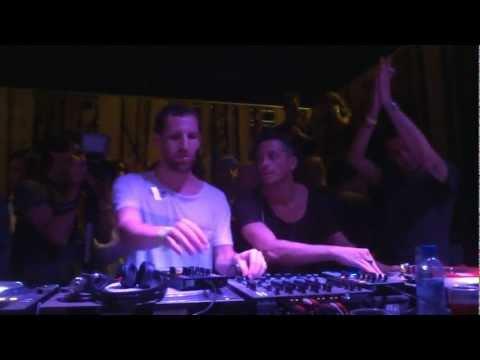 MATTHIAS TANZMANN B2B DAVIDE SQUILLACE @  EAST ENDER BARCELONA - 14 JUNE 2012 - [HD]