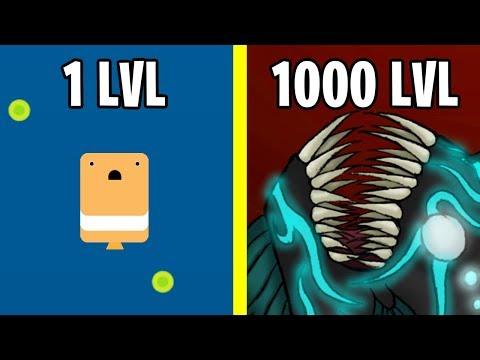 Эволюция Подводного Монстра! Deeeep.io Новая Версия io Игры