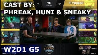 Video GGS vs FLY - Cast By Phreak, Huni & Sneaky (NALCS Lounge) | Week 2 Day 1 of S8 NA LCS Spring 2018 MP3, 3GP, MP4, WEBM, AVI, FLV Juni 2018
