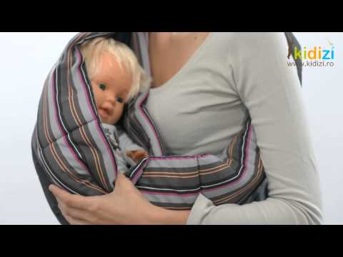 Prezentare video Babymoov portbebe Baby Ring Sling