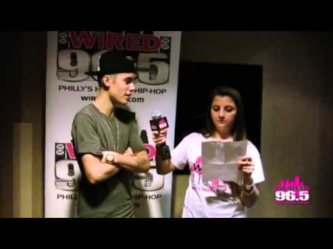 Justin bieber  Talks about his sister and mother and gets emotional..(Exculsive)