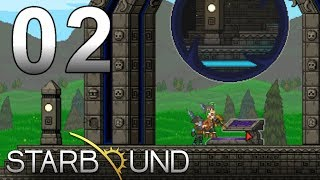 Lets Play Starbound (deutsch, german, ger) Folge 02 Multiplayer/Together Erdumrundung und Mittelpunktsreise (PC, 1080p) ...