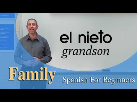 Family Vocabulary    Spanish For Beginners (Ep.12)