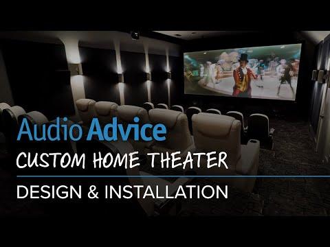 Audio Advice Custom Home Theater Design & Installation (видео)