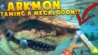 MY FRIEND DIED TRYING TO TAME A MEGALODON - EPIC ARK ADVENTURES - ARK SURVIVAL EVOLVED POKEMON MOD