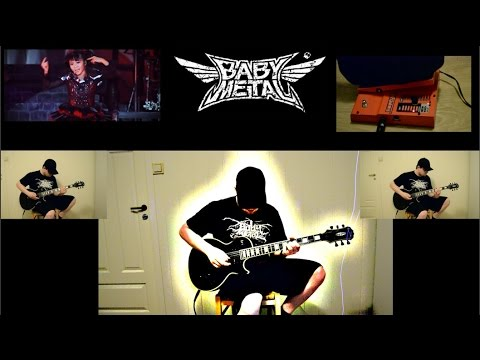 Cover - Another Babymetal cover! Check out Babymetal: https://www.youtube.com/user/BABYMETALofficial Guitar: Epiphone Matt Heafy Les Paul Custom Signature --- Jamup iPhone app ---- Soundcard: Apogee...