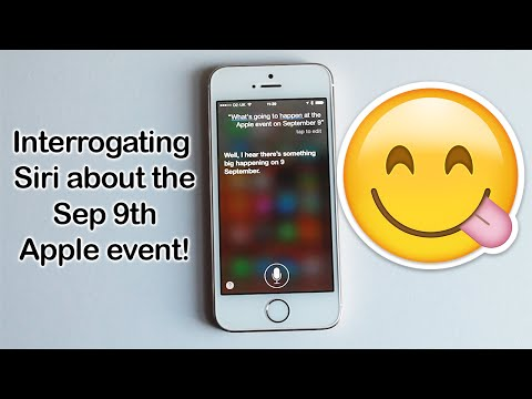 Interrogating Siri about the Sep 9th Apple event! | Rachybop