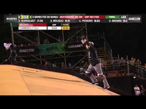 Skateboard: 720 ollie