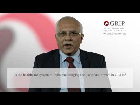 Antibiotic prescriptions for URTIs – an Indian experience