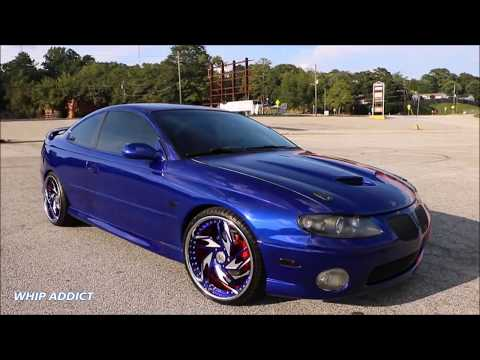 WhipAddict: Kandy Cobalt Blue 05' Pontiac GTO on Rucci Forged Breitling 20s