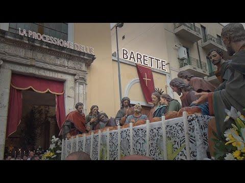 la secolare processione delle barette del venerdi santo a messina