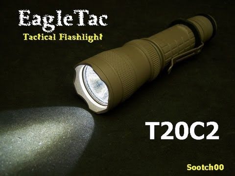 tactical light - Fun Gun Gear Reviews Presents: The EagleTac T20C2 Tactical Flashlight. With 720 Lumens, 6 different modes and a host of accessories, this light is an excelle...