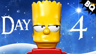 Custom LEGO Simpsons Advent Calendar Day 4 Unboxing
