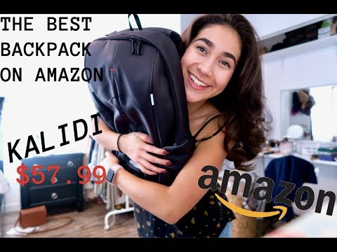 KALIDI BACKPACK REVIEW// THE BEST BACKPACK EVER