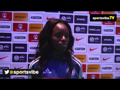 Chelsea's Eniola Aluko Shares Her Delight At Brother's Wembley Appearance