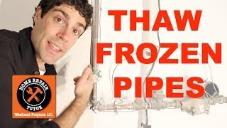 Video Thaw and Prevent Frozen Water Pipes -- by Home Repair Tutor MP3, 3GP, MP4, WEBM, AVI, FLV Juli 2018