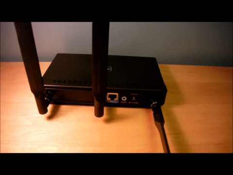 D-Link DAP-2553 Dual Band wifi router Unboxing