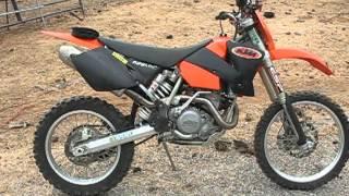 9. 2003 KTM 525 MXC