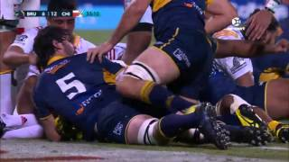 Brumbies v Chiefs Rd.6 2016 | Super Rugby Video Highlights