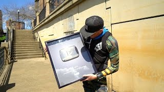 """""""Found"""" 1 Million Gold Play Button in River!"""
