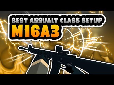 Phantom Forces - THE M16A3 | Best Assualt Class Setup