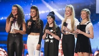 Video Britain's Got Talent S08E06 SweetChix Girl Band From Essex Smash their Audition MP3, 3GP, MP4, WEBM, AVI, FLV Juli 2018