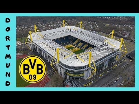 DORTMUND: Borussia Dortmund (Football Club) store at the stadium (Germany)