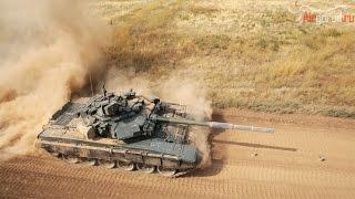 Танк Т-90. Маневры, стрельбы