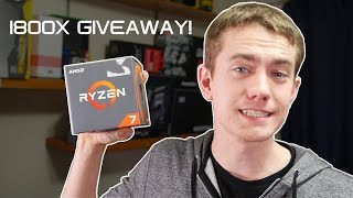 Enter the giveaway here: https://gleam.io/iUOL8/ryzen-7-1800x-giveawayOpen worldwide, void where prohibited.  Full Terms & Conditions at the link. Check out Wootware for all your PC rig needs: https://goo.gl/N9KFSDCrosshair VI Hero: http://amzn.to/2rr7IWyRyzen 7: http://amzn.to/2rHQnb5Trident Z RGB: http://amzn.to/2prkDHILightning Z 1080 Ti: http://amzn.to/2usZv8P8600 GT: http://amzn.to/2ut7lj3ASUS PCI WiFi Adapter: http://amzn.to/2teOAwmCorsair H100i: http://amzn.to/2t96YGjHD120 RGB: http://amzn.to/2pfqYHQThermaltake Toughpower RGB 850W: http://amzn.to/2lSKNUvVideo was shot on:Panasonic GH4: http://amzn.to/2tyKUpJSigma 18-35 f1.8: http://amzn.to/2tyDKBBTascam DR-40: http://amzn.to/2tRVLxoAKG Lavalier Mic: http://amzn.to/2uzaVW3Rode VideoMic Pro: http://amzn.to/2uzxOZfBenro Tripod & Head: http://amzn.to/2u0P9xkGodox LED Lights: http://amzn.to/2uTeHJ2For the intro/outro music by Kalyptra: https://goo.gl/eVmyNVdFor the music in the video: https://goo.gl/IMZC9AJoin the UFDisciple Discord server! - https://discord.gg/PApp82hMy Twitter - http://www.twitter.com/ufdiscipleMy Facebook - http://www.facebook.com/ufdiscipleMy Instagram - http://www.instagram.com/ufdisciple