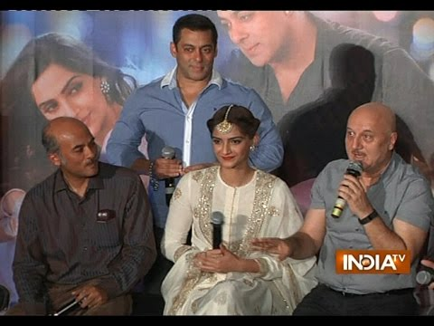 Prem Ratan Dhan Payo star-cast during launch of trailer